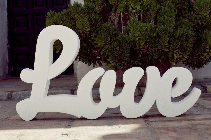 Iniciales ...y LOVE de Regalo !!